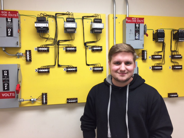 Casey Lellock, Maintenance Electricity Student (DuBois)