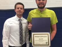 Brandon Horan, High School Representative and Welding and Fabrication winner, Isaac Bell